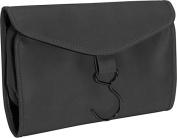 Royce Leather 264-BLACK-11 Hanging Toiletry Bag - Black