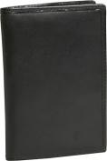 Travelon 72020-50 RFID Blocking Passport Case - Black Cowhide