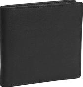Royce Leather 106-BLACK-5 Hipster Wallet - Black