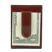 Old Leather Front Pocket Wallet w/Money Clip