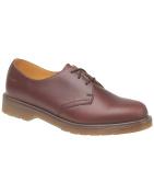 Dr Martens 1461PW Classic Tan Lace-Up Shoe