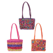 Embroidered Sequin & Bead Bag