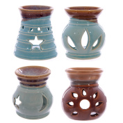 Small Ceramic Cut-Out Design Oil Burner 8cm