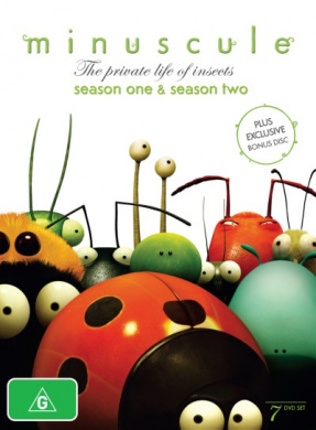 Minuscule: The Private Life of Insects - Seasons 1 - 2 (7 Discs)