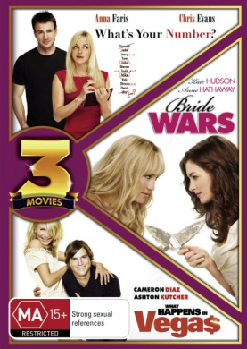What's Your Number/Bride Wars/What Happens in Vegas (Triple Pack) (3 Discs)