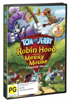 Tom and Jerry: Robin Hood and His Merry Mouse (Original Movie)