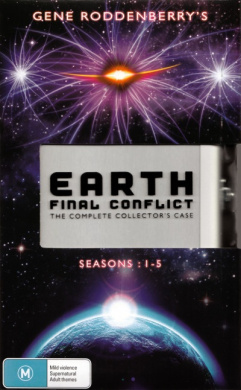 Earth: Final Conflict - The Complete Collectors Case (30 Discs)