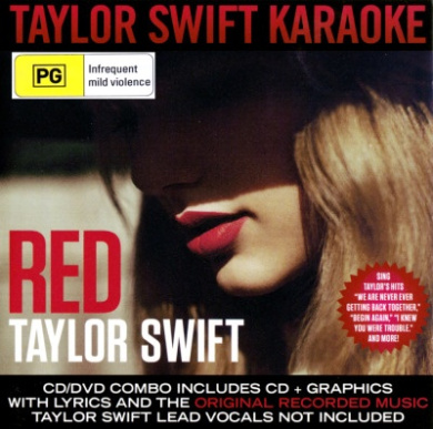 Taylor Swift: Red (Karaoke Version CD/DVD) (2 Discs)