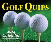 Golf Quips 2014 Mini Box Calendar