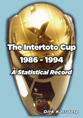 The Intertoto Cup 1986-1994 A Statistical Record