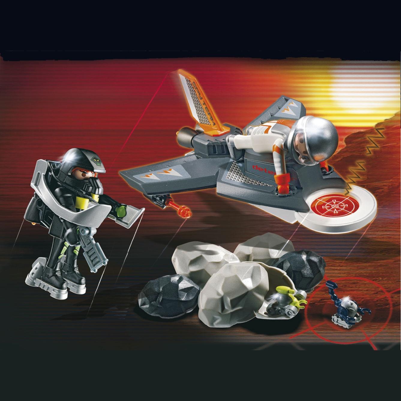 Red LEGO Bionicle Rahaga Mini Figure Set #4877 Norik