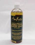 Shea Moisture Bubble Bath And Body Wash 470ml Olive & Green Tea