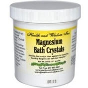 Health and Wisdom Magnesium Bath Crystals .75 grammes