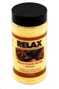 Warm French Vanilla Aromatherapy Bath Salts -17 Oz- Natural Minerals & Vitamins - Aroma Therapy For Hot Tubs, Spas & Jacuzzi