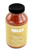 White Musk Vanilla Jasmine Aroma Therapy Bath Crystals -22 Oz- Natural Mineral Salts - Aromatherapy for Hot Tub, Spa & Jacuzzi