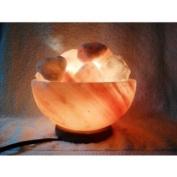 Salt Lamp Bowl From 100% Himalayan Crystal Salt