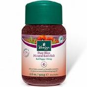 Kneipp Pure Bliss Mineral Bath Salt - Red Poppy 500g Red Poppy
