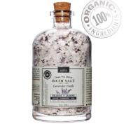 Organic Bath Salt - Dead Sea Aromatherapy Detox - Relaxing Lavender 380ml