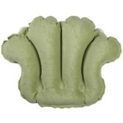 Living Healthy Products 31012CS Terry Bath Pillow in Celery