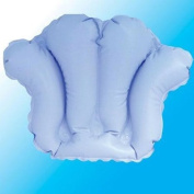 Deluxe Comfort Inflatable Bath Pillow with Suction Cups