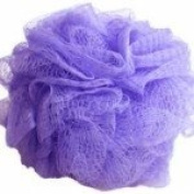 Body Pouffe Net Sponge Exfoliating - Varied Colours