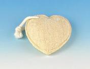 Fun Shaped Loofah Sponge - Heart Shaped