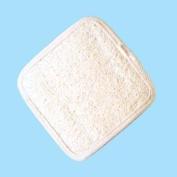 Square Loofah Hand Mitt Body Exfoliator 10cm x 10cm
