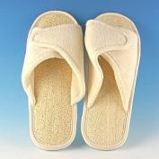 Loofah Bath & Spa Slippers hook and loop Adjustable Slippers