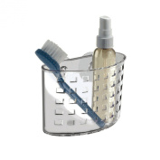 """""""ABC Products"""" - Suction Cup ~ All-Purpose - Wall Mount - Medium Clear - Basket Holder"""