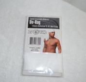White DuRag Hat - Tie down Du-Rag Hair Cap