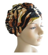Jane Inc. Luxury Spa Cap - Tropical Brown