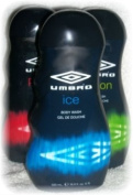 Umbro Ice Scented Body Wash Cleansing Gel 500ml Bottle