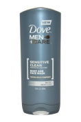 Dove Sensitive Clean Body And Face Wash 400 ml Body Wash for Men