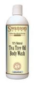 Tea Tree Oil Body Wash 16 fl oz (474 ml) Liquid by Swanson Ultra