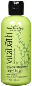 Vitabath Bath and Shower Gel, Green Tea and Sage, 350ml