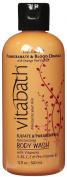 Vitabath Bath and Shower Gel,Pomegranate and Blood Orange with Orange Peel Extract, 350ml