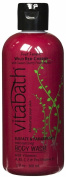 Vitabath Bath and Shower Gel, Wild Red Cherry, 350ml
