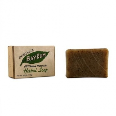 Dominica Bay Rum All Natural Handmade Herbal Soap 120ml soap by Dominica Imported
