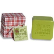 Big Pine Mountain Hand Wrapped Soap, Red Plaid