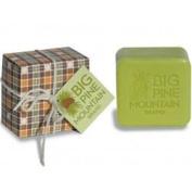 Big Pine Mountain Orange Flannel Soap 170ml soap bar by Kala