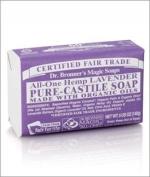 Organic Lavender Bar Soap-140 g Brand