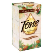 Tone Bath Bars with Cocoa Butter and Botanicals, Original Scent, 6 - 130ml bars [ 800ml (1 lb 330ml ) 765 g]