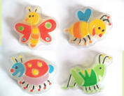 4 Insects Glycerin Soaps All Natural