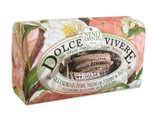 Dolce Vivere Fine Natural Soap - Roma - Olenander In Bloom, Muscat & Fig, 250g260ml