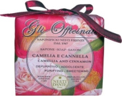 Gli Officinali Soap - Camellia & Cinnamon - Purifying & Sweetening, 200g210ml