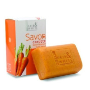 Fair and White Savon Carrot Exfoliating Soap