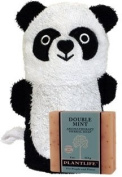 Ramie Panda Mitt with All-Natural Plantlife Double Mint Soap
