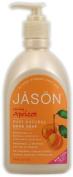 Apricot Liquid Satin Soap with Pump-500 ml Brand