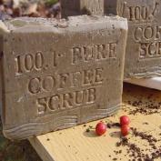 100 % Pure Brazilian Coffee Scrub Soap with Cocoa Butter