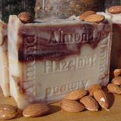 Handmade Almond Hazelnut Soap with Organic Acai Berry Butter